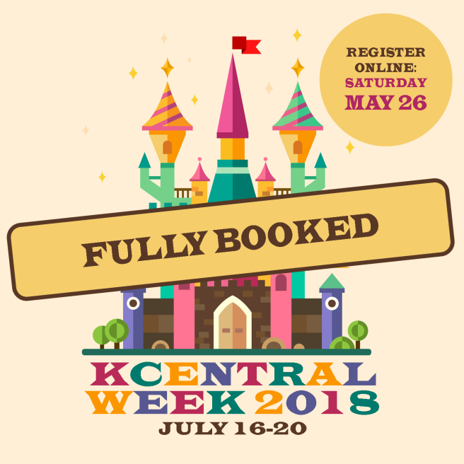 KCentral 2018 fully booked